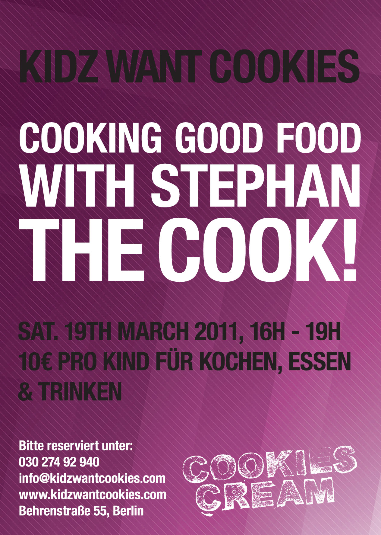 Cooking with Stefan the Cook!